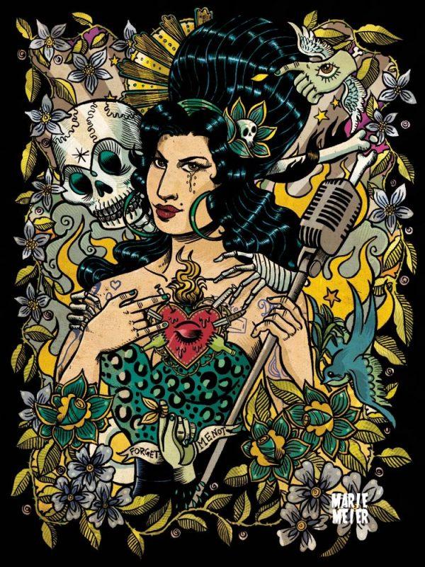 Marie Meier Amy Winehouse