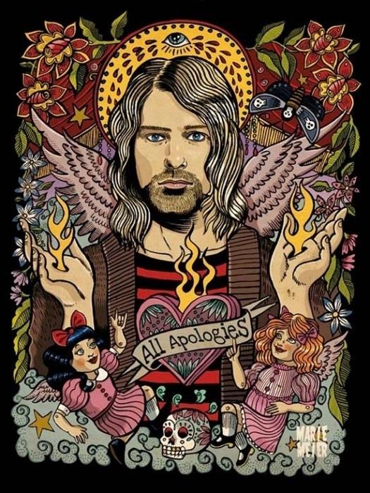 Marie Meier Kurt Cobain