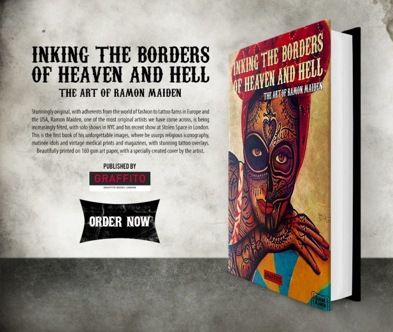 INKING THE BORDERS OF HEAVEN AND HELL – THE ART OF RAMON MAIDEN