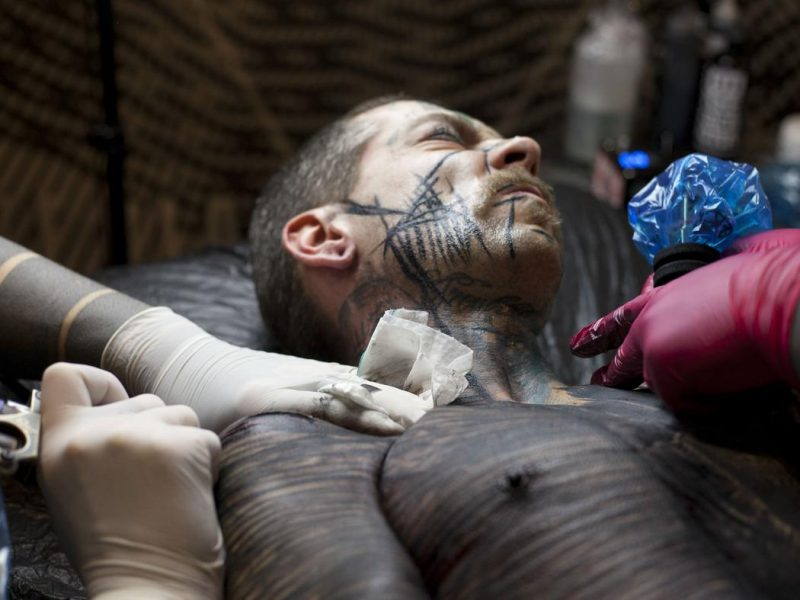 brutal tattoo ritual