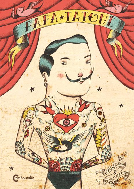 Papa tatoué couverture