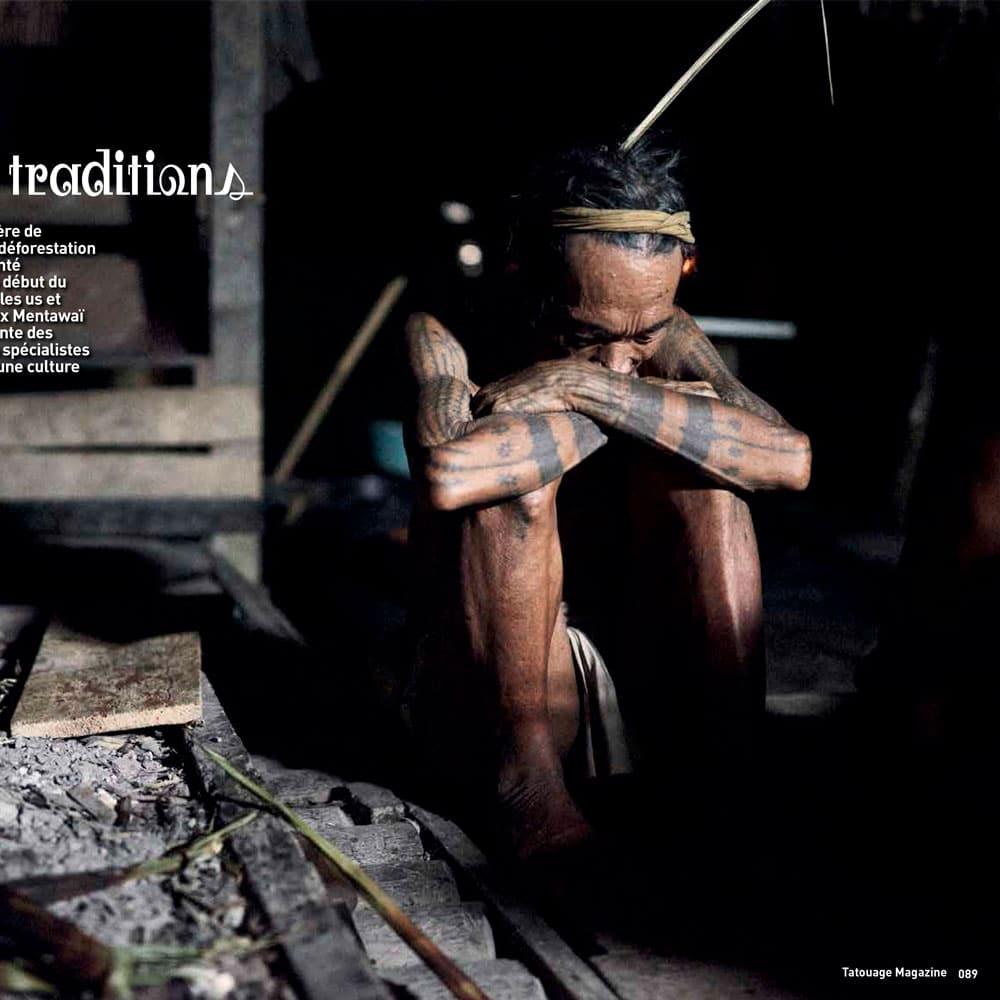 Les Mentawaï: survivance des traditions