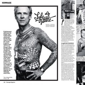 Lyle Tuttle, mentor du tatouage moderne