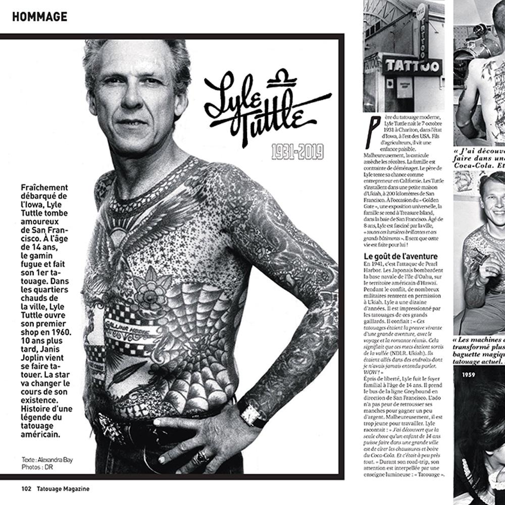 Lyle Tuttle, mentor du tatouage moderne